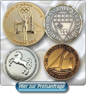Medaillen, Münzen, Coins